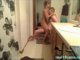 Hot Blonde Teen Sucks And Fucks BF In Bathroom – Real18cams.com