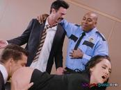 Lawyer Kristina Rose Gets Fucked In The Courtroom